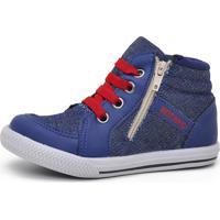 Tênis Botinho 344 Jeans Azul Marinho - Kanui