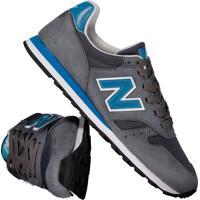 Tênis New Balance 373 Cinza E Azul