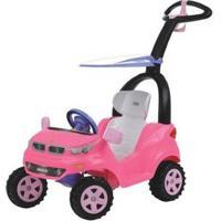 Carrinho De Passeio Infantil Push Baby Easy Ride - Unissex-Rosa