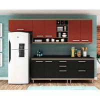 Cozinha Compacta New Vitoria 7 Pt 5 Gv Onix Com Rubi