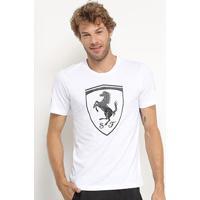 Camiseta Puma Sf Big Shield Masculina - Masculino