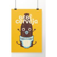 Poster Bebê Cerveja