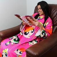 Cobertor Com Mangas As Meninas Super Poderosas