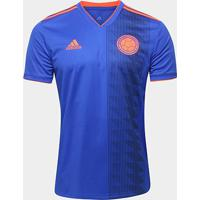 Camisa Seleção Colômbia Away 18/19 S/N° Torcedor Adidas Masculina - Masculino