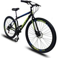 Bicicleta Aro 29 Dropp Sport Aço 21V Marchas Com Freio A Disco Mecânico - Unissex