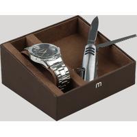Kit De Relógio Analógico Mondaine Masculino + Canivete - 99056G0Mvne2Kb Prateado - Único