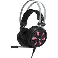 Fone De Ouvido C/ Microfone C3Tech Gamer Usb 7.1 Vulture Ph-G710Bk - Unissex