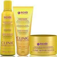 Richée Professional Clinic Repair System Kit Trio (3 Produtos) - Feminino-Incolor