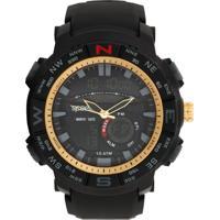 Relógio Speedo 81145G0Evnp1 Preto/Dourado