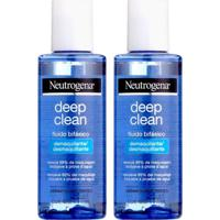 Kit Com 2 Demaquilantes Neutrogena Deep Clean 117Ml