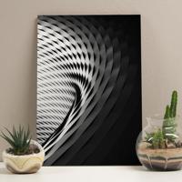Placa Decorativa - Architecture Curves