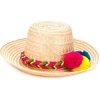 Folkloore Folkloore - Woman - Colombian Straw Hat - Neutro