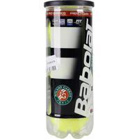Bola Tenis Babolat Roland Garros - Pack 03 Bolas 01 Tubo