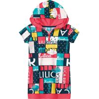Vestido Lilica Ripilica Infantil 101102320001 Vermelho