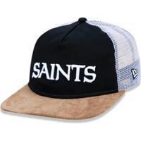 ... Boné 950 Original Fit New Orleans Saints Nfl Aba Reta Snapback New Era  - Masculino- 15b712e4216