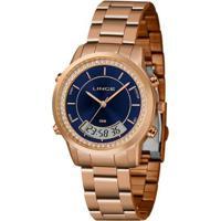 Relógio Lince Anadigi Lar4640Ld1Rx Feminino - Feminino-Dourado