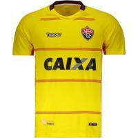 57e39dfc82 Netshoes  Camisa Topper Vitória Goleiro I 2018 Masculina - Masculino