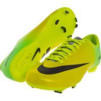1adcb0cb30521 Chuteira Campo Nike Ctr360 Mercurial Victory Iv Fg Verde