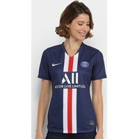 Camisa Paris Saint-Germain Home 19/20 S/N° Torcedor Nike Feminina - Feminino
