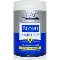 Pó Descolorante Azul Efac For Professionals Blond Ambition - 500G