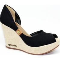 Sapato Barth Shoes Noite - Feminino-Preto
