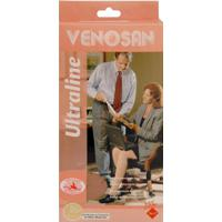 Meia Venosan Ultraline Panturrilha Compressão 20-30 4000 Ad Pequeno Preto Bn41011