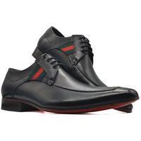 Sapato Social Oxford Masculino Bico Fino Sola Couro Mod 309 Preto