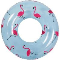 Bóia Inflável Gigante Redonda Anel Estampa Flamingo Bel Lazer - Unissex