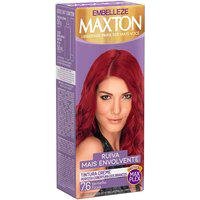 Tintura Creme Maxton 7.6 Vermelho Fúcsia Com 1 Unidade 1 Unidade
