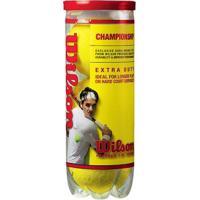 Bola Tennis Campo Wilson Championship - Unissex
