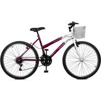 Bicicleta Master Bike Aro 26 Serena Plus 21 Marchas V-Brake - Feminino