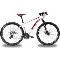 Bicicleta Aro 29 Rino Atacama Freio A Disco - Cambios Shimano 24V Com Trava - Unissex