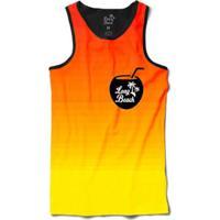 Camiseta Long Beach Regata Côco Sublimada Masculina - Masculino
