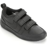 Tênis Infantil Nike Pico Velcro - Masculino-Preto