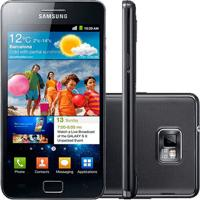 "Smartphone Samsung Galaxy S2 Preto - 16Gb - Wi-Fi - 3G - Tela 4.3"" - Câmera 8Mp - Bluetooth - Android 2.3"