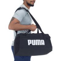 Mala Puma Challenger Po - Preto/Branco