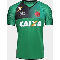 45e3a9d620a Netshoes  Camisa Vasco Goleiro 17 18 S Nº Torcedor Umbro Masculina -  Masculino