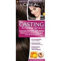 Coloração Permanente Casting Creme Gloss N° 400 Castanho Natural L'Oréal 1 Unidade