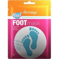 Máscara Hidratante Para Pés Dermage - Foot Mask Sache 10G - Unissex-Incolor