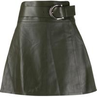 Dodo Bar Or Belted Mini Skirt - Verde