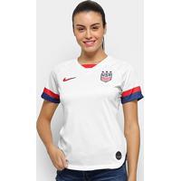 Camisa Seleção Estados Unidos Home 19/20 S/Nº Torcedora Nike Feminina - Feminino