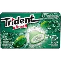 Chiclete Trident Clutch Crystal Mint 18G