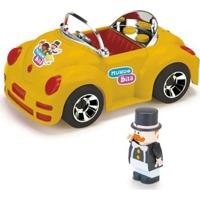 Veículo Roda Livre E Mini Figura - Mundo Bita - Amarelo - Monte Líbano