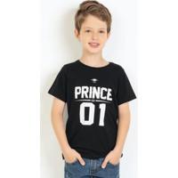 Camiseta Preta Prince