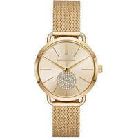 Relógio Michael Kors Essential Portia Dourado - Mk3844/1Dn Feminino - Feminino-Dourado