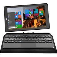 "Tablet Multilaser M8W Hibrido Preto Windows 10 Tela 8.9"" Intel 1Gb Ram Mem 16Gb Dual Câmera - Nb193"
