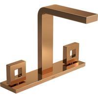 Misturador Para Banheiro Mesa Dot Red Gold - 1877.Gl.Dot.Rd - Deca - Deca