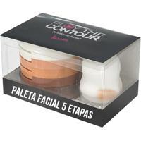 Paleta Facial 5 Etapas Luisance Acompanha Esponja Ref-L779