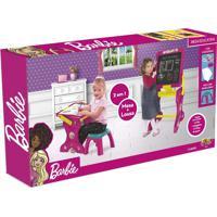 Barbie Mesa Educativa 2 Em 1 Fun Divirta-Se