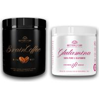 Brain Coffee 200G E Glutamina 300G - Betterlife